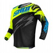 Shot Devo Ventury Youth MX Jersey Neon Yellow